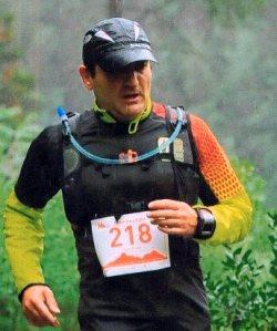 Luís Pinto concluiu o duro Trail da Lousã
