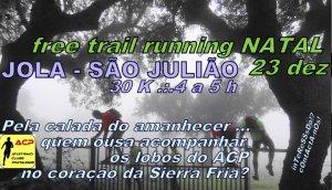 free trail running natal