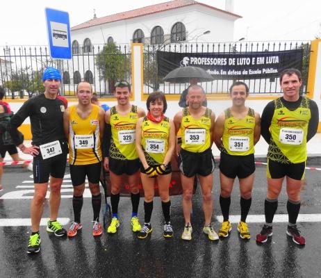 Barrero, Farinha, Paixão, Vitorina, Cordeiro, Tomé e Maurício correram 10 Km em Elvas