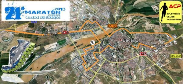 """17 """"amarelinhas"""" na Maratona de Badajoz"""