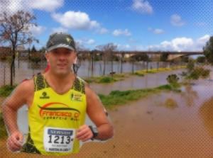 Rui Monteiro vai a Mérida correr 100 Km ... debaixo de água.