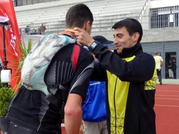 Bruno Silva medalhado por Bruno Paixão no UTSM