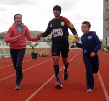 Roberto Tomé 2º TCSM 24 Km