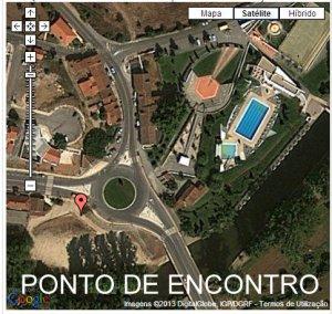 Coordenadas GPS: LAT 39.382519 LONG -7.383813