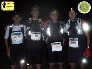 Cordeiro, Melo, Pinto e Carinhas à partida do UTSF 2013.