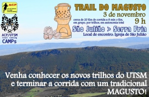 ACP/UTSM trail running CAMPs começam no domingo