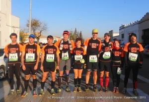 AC Portalegre / UTSM ganhou a I Carrera El Pocito - Calamonte