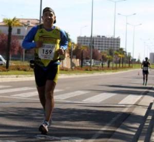 Costa 3 h 04 m 11 s na Maratona de Badajoz (foto Bruno Carrilho)