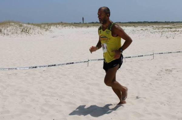 Rui Monteiro 27º na UMA (foto Correr Lisboa)