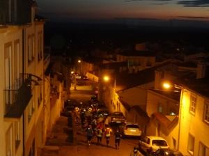 Sexta à noite correu-se e caminhou-se por trilhos em Portalegre