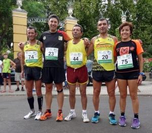 Cordeiro, Correia, Cruz, Paulino e Vitorina em Alange