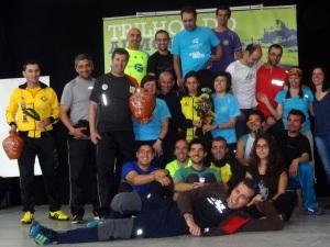 Nelson Nunes e Lídia Calado aqui integrado na equipa ACP que venceu os Trilhos do Almourol 2014