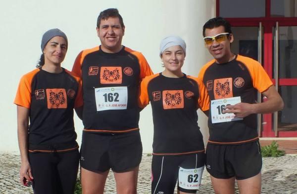 Natália, Bruno, Ângela e João Nunes correram em Grândola Vila Morena