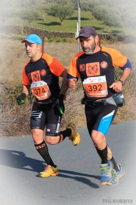 Roberto Tomé e Emílio Paulino no recente Valentrail