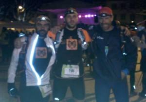 Serra, Mafra e Albuquerque à meia-noite de sexta iniciaram corrida de 111 Km