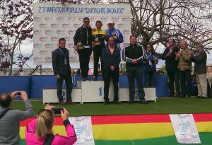 Vítor Cordeiro 9.º e 1.º M50 na Maratona de Badajoz