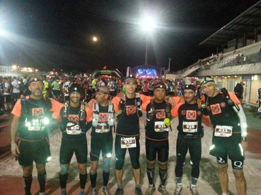 Equipa ACP de Ultra Trail no UTSM 214.