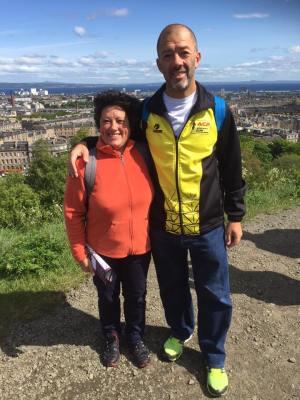 Rui Monteiro correu Maratona na Escócia