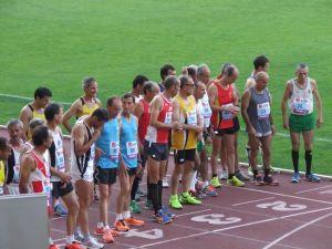 Partida do Nacional Masters de 10.000 m