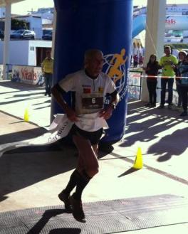 Vítor Cordeiro 1.º nos 55 Km Trail de Barrancos 2015