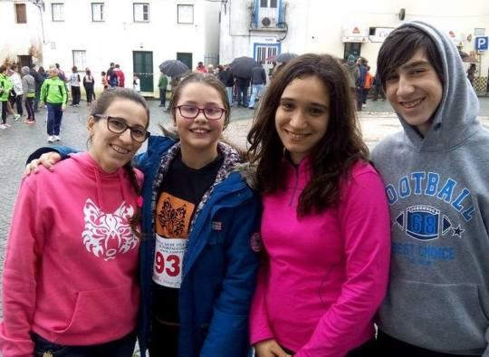 Rute Costa, Inês, Ana e Luis
