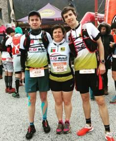 Miguel, Filomena e Nuno