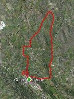O percurso do Trail dos JAA