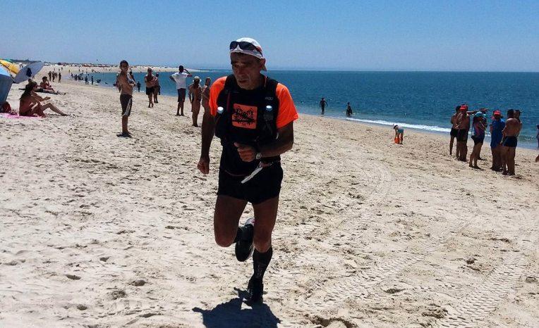 Emílio Paulino 3.º M55 nos 43 Km