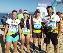 Rute, Ana, Carla e Luis: ACP nos 15 Km