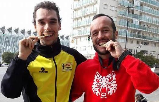 Quelhas e Melo na Maratona deValencia