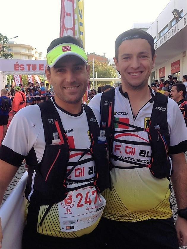 Hugo e Miguel no Trail doXisto