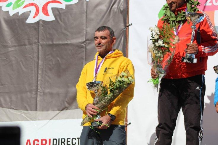Emilio Almeirim podio