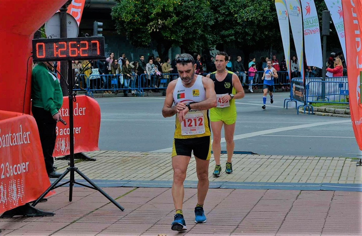 Paulino 2º M55 na Meia de Badajoz